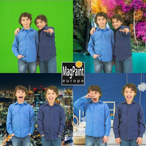 MagPaint - Greenscreen Farbe