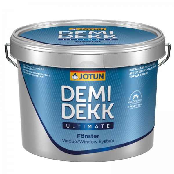 JOTUN Demidekk Ultimate Fönster, Weiß
