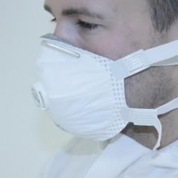 Atemschutz-Halbmaske partikelfiltrierend FFP3 V